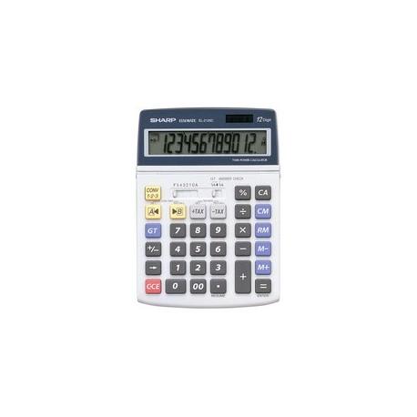 SHARP calculatrice de bureau EL-2125C