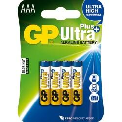 GP 4xLR03 1,5V AAA MICRO ULTRA PLUS ALKALINE  BLISTER