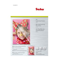 Geha Pochettes de plastification format A4, 160 micnew