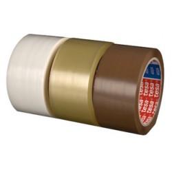 tesapack ruban adhésif d'emballage 4024, en PP, 50 mm x 66 m TRANSPARENT