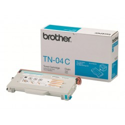 Brother tn 04c - cartouche de toner - 1 x cyan - 6600 pages