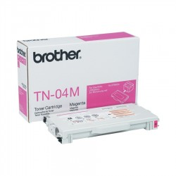 Brother tn 04m - cartouche de toner - 1 x majenta