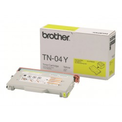 Brother tn 04y - cartouche de toner - 1 x jaune