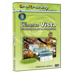Orditraining - Windows Vista L'intégrale de la formation