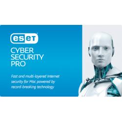 ESET Cyber Security Pro - Antivirus & Securité Internet pour Mac  Licence 1 poste 3 ans