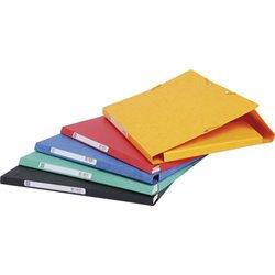 EXACOMPTA Chemise à élastiques Scotten, A4, carton, jaune