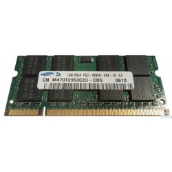 SAMSUNG SO-DIMM 1GB PC2 4200S 444